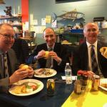 Fish Sandwich Chronicles: Law firm Burns White moves to the Strip District and its attorneys head to Penn Avenue Fish for lunch