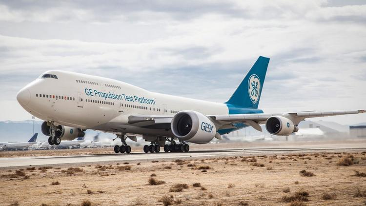 GE Aviation tests massive GE9X engine for new Boeing 777X on