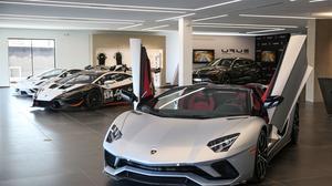 PHOTOS: Peek inside Lamborghini Charlotte's new home