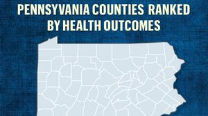 See which counties lead the state for health outcomes