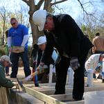 Domtar CEO, other local leaders help build Habitat house in Rock Hill