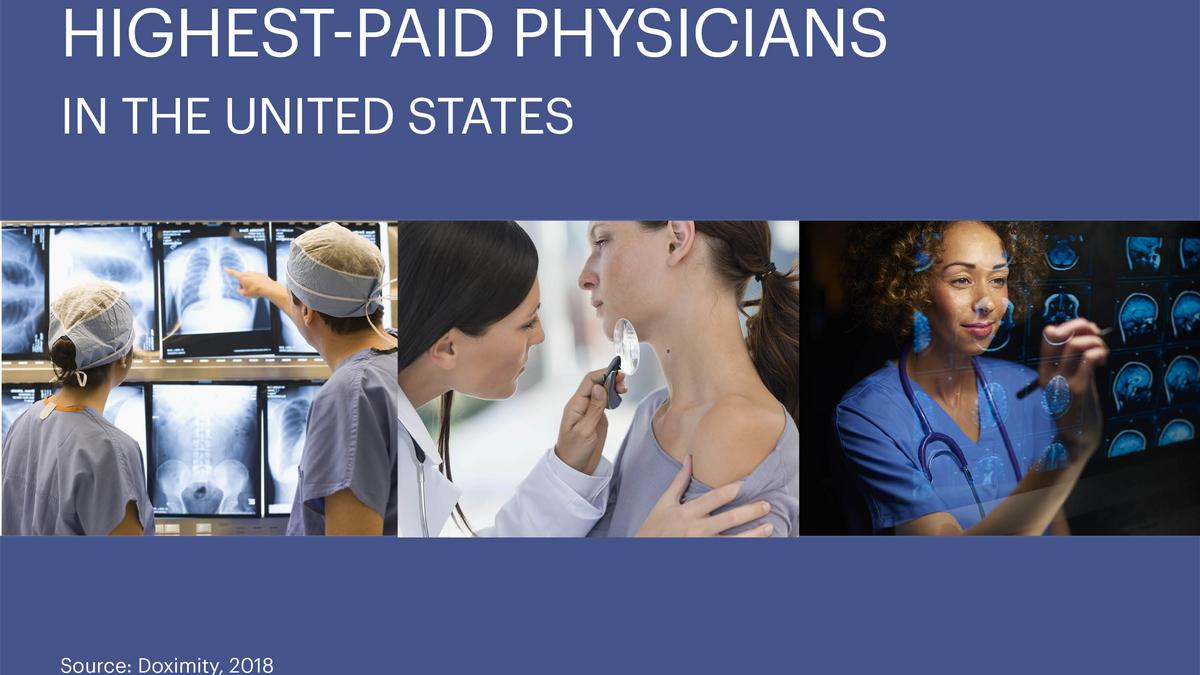 Neurosurgery tops this list of the highest-paid physicians