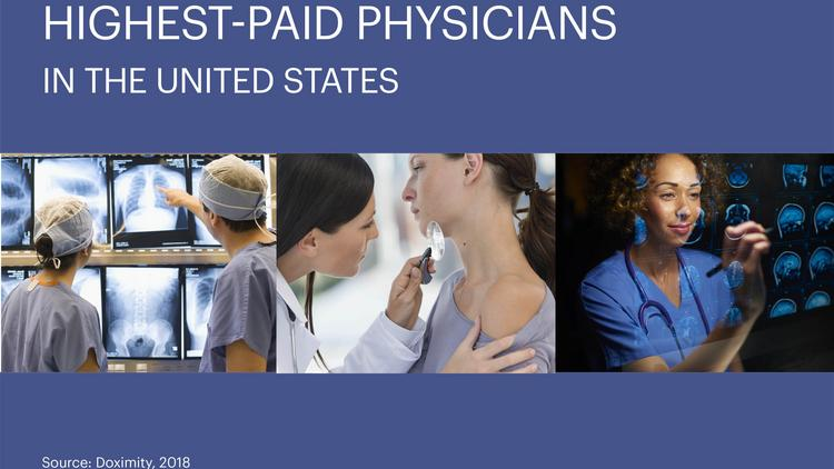 Neurosurgery tops this list of the highest-paid physicians in the ...