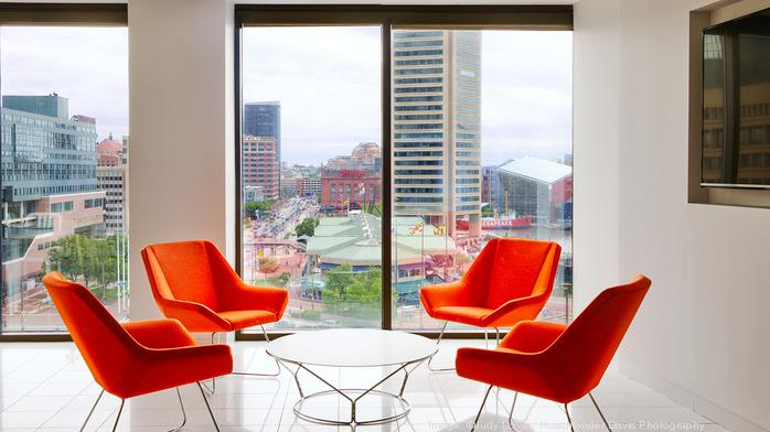 Cool Digs: Inside 'Club Cushman' — the commercial real estate company's downtown office cafe