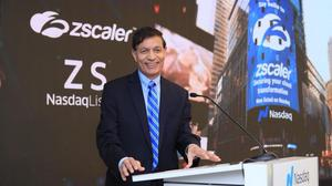 Five companies later, Zscaler CEO enjoys his first IPO as stock doubles