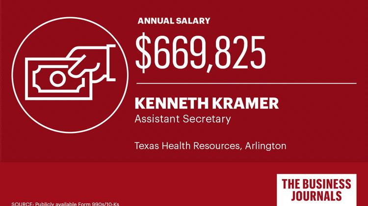 See North Texas' highest-paid hospital executives - Dallas