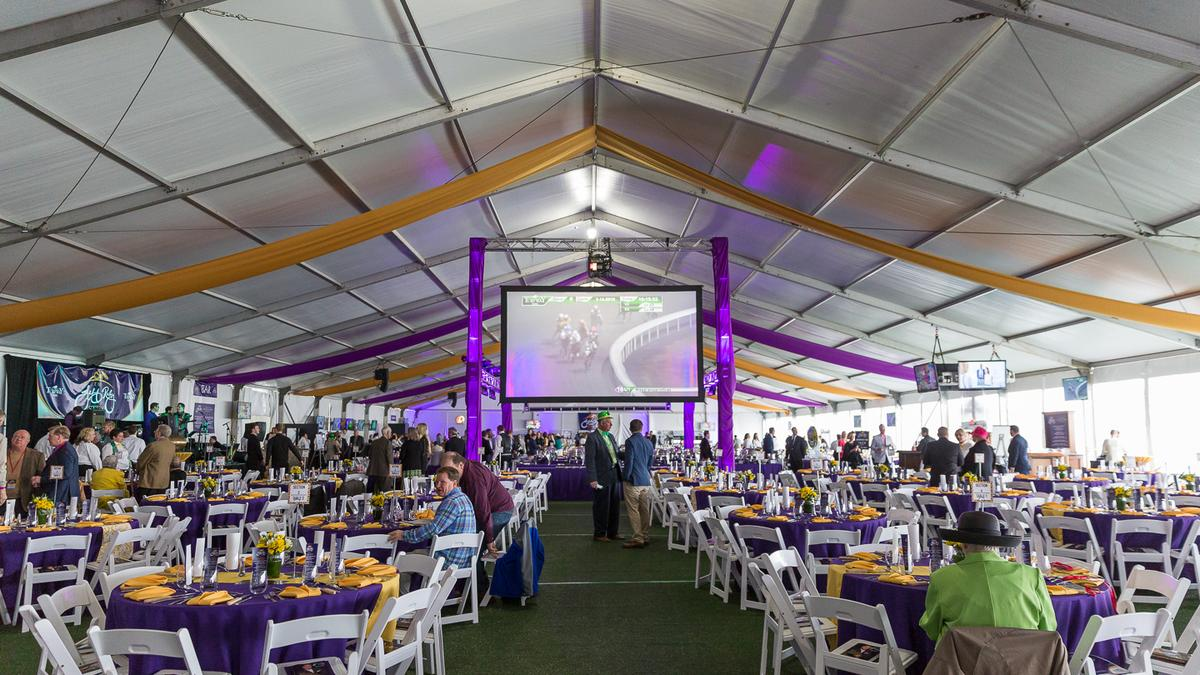 Vip Tent Highlights First Jeff Ruby Steaks Turfway Park S