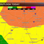 Severe weather threat prompts wave of closures