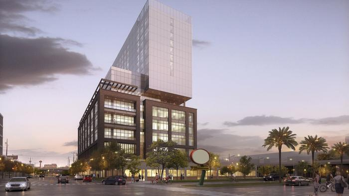 A look at GrayStreet's proposed Broadway tower seeking HDRC approval (renderings)
