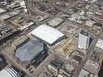 Milwaukee Bucks' arena 88% complete; see it from above and at street level: Slideshow