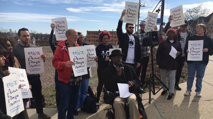 Affordable housing advocates protest in advance of new plan by LG Realty