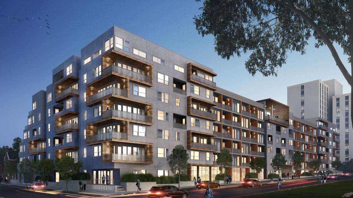 Chinese developer dezhu making big investments in atlanta for Apartments near mercedes benz stadium