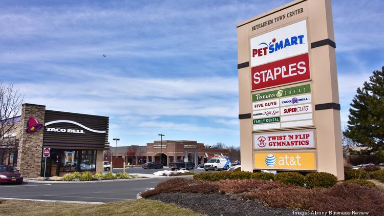 Bethlehem, NY, shopping center and land sell for $12 3