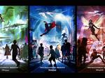 Disney theme parks to open three Marvel superhero lands