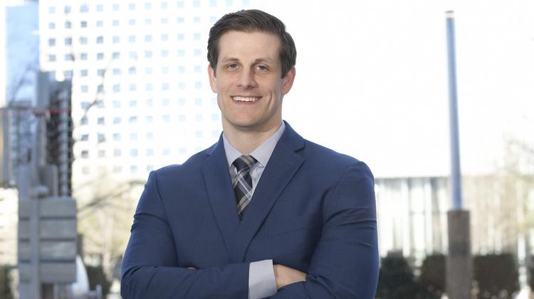 40 Under 40: Dr  Robert Weir, resident physician, UT