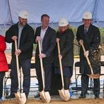 Charlotte Regional Realtor Association breaks ground on new HQ as developer eyes future office phases (PHOTOS)
