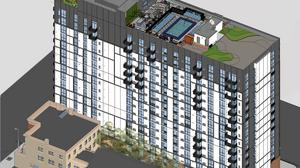 Newest 17-story downtown high-rise will be topped off with Minnesota cabin-inspired club room