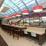 Wingtips Lounge gives travelers a place to relax at Lambert Airport
