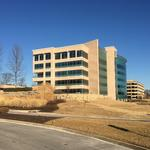 Delmar Gardens III is the first multitenant office building in West County since 2008
