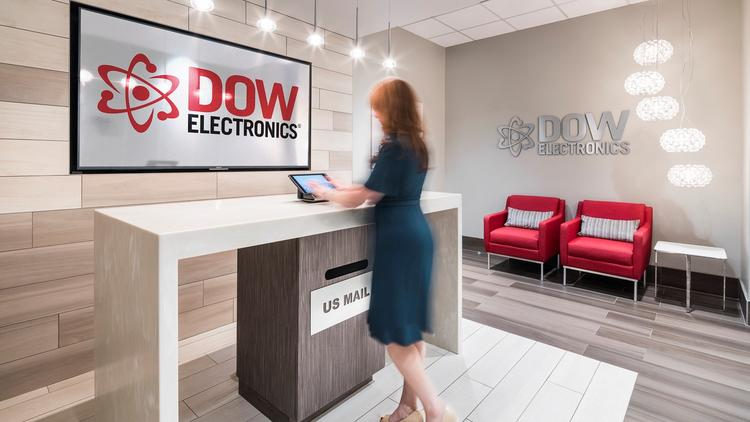 DOW ELECTRONICS Client Company: DOW Electronics Name Of Interior Designer:  Gresham Smith And Partners