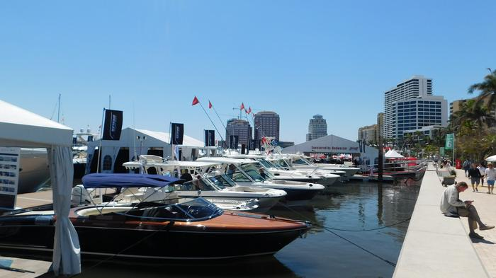 The show features more than $1.2 billion worth of boats, yachts and accessories from the world's leading marine manufacturers.