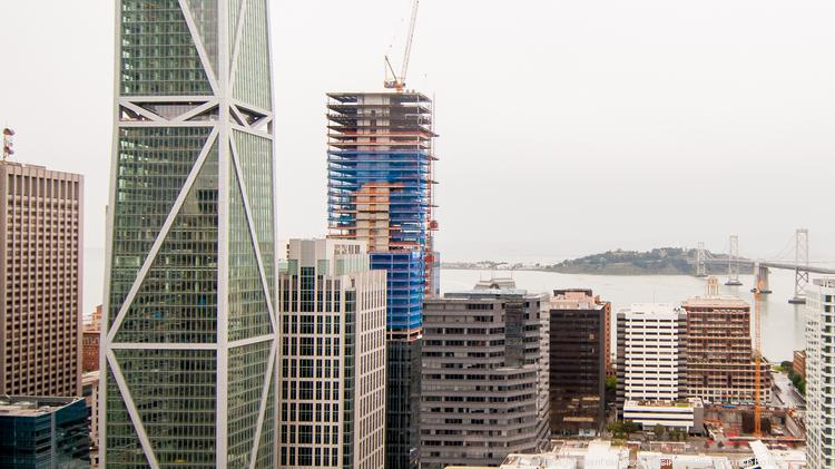 Facebook Has Leased The Entire Office Portion Of Both 181 Fremont Left And Park