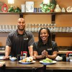 Former NFL player, wife offer tour of new restaurant set to open in uptown (PHOTOS)