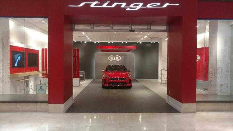 KIA Motors Opens U0027Stinger Salonsu0027 Across The U.S. Including At The Mall Of  Georgia