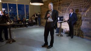 Norquist, Grunau, Park celebrate Milwaukee Riverwalk's global award: Slideshow