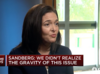 Sheryl Sandberg speaks - finally