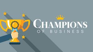 And the 2018 Champions of Business winners are ...