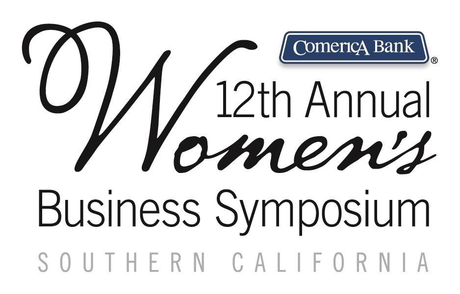 Comerica Bank Women's Business Symposium