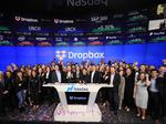 Shares of Dropbox soar 37% in first day of trading in 2018's biggest tech IPO so far