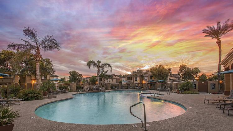 San Diego Group Pays 54m For Tuscany Ridge Apartments In Peoria
