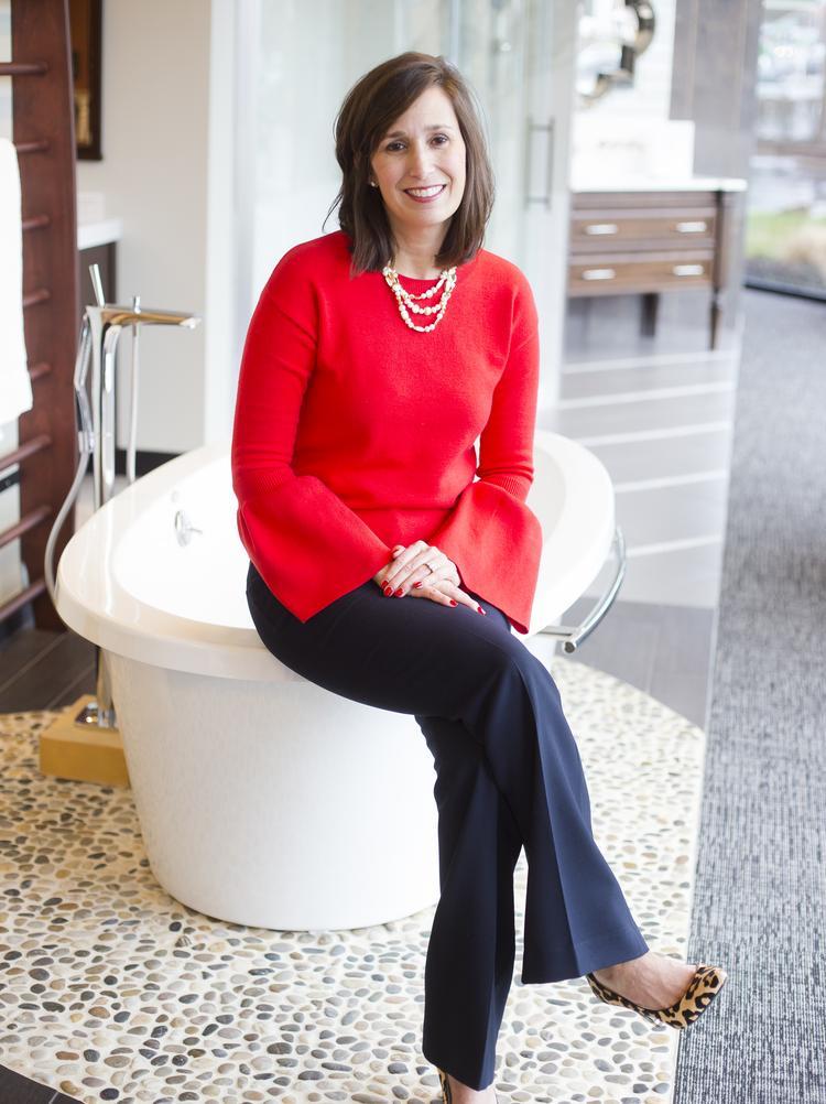 St. Louis Character: Megan Bittle remodels RSI Kitchen & Bath to fit ...