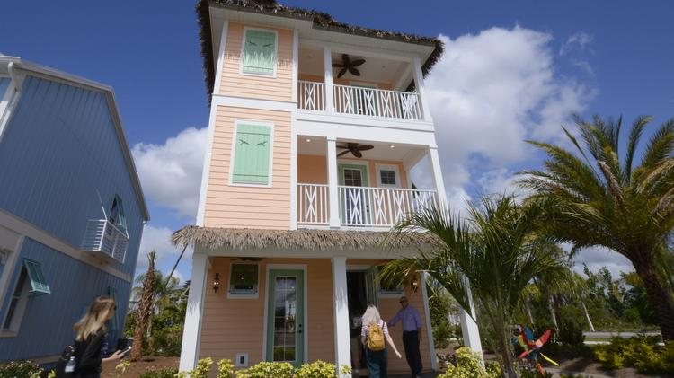 A March 26 media tour of the Margaritaville Resort revealed new views of the $750 million development that included vacation cottages.