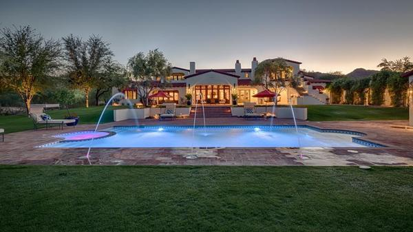 Glamorous Spanish Revival Manor