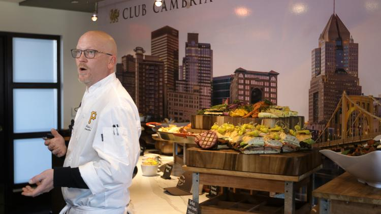 During The Annual What S New At Pnc Park Event Held For Members Of