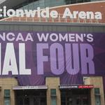 Check out the official Women's Final Four court being installed at Nationwide Arena (Video)