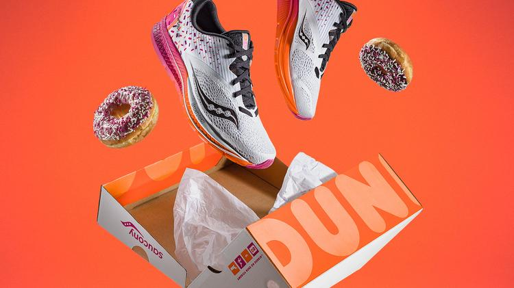 88f03754b5ce Saucony and Dunkin  Donuts teamed up on a new sneaker called the Saucony X  Dunkin