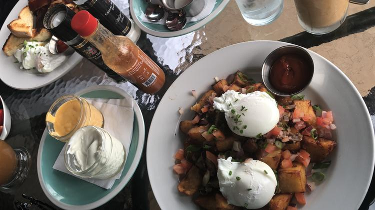 The Loaded Home Fries At Daily Dose In South Tampa