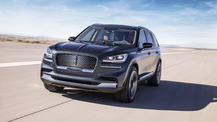 Ford Unveils New Lincoln Aviator SUV At New York Auto Show - Louisville car show
