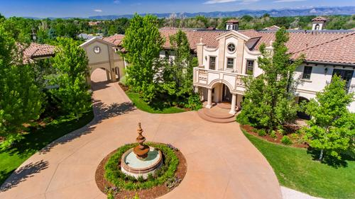 One-Of-A-Kind Gated Italian Villa