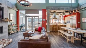 One of a Kind Light Filled Penthouse in Riverfront Park