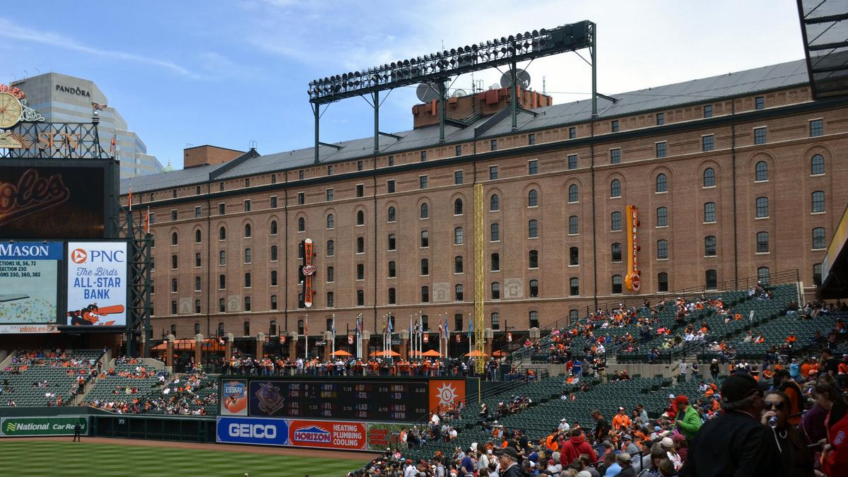 The Camden Yards Warehouse Baltimore S Prized Baseball