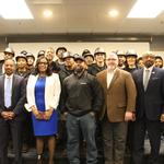 County-funded program trains residents in building skills, pairs them with companies who need them