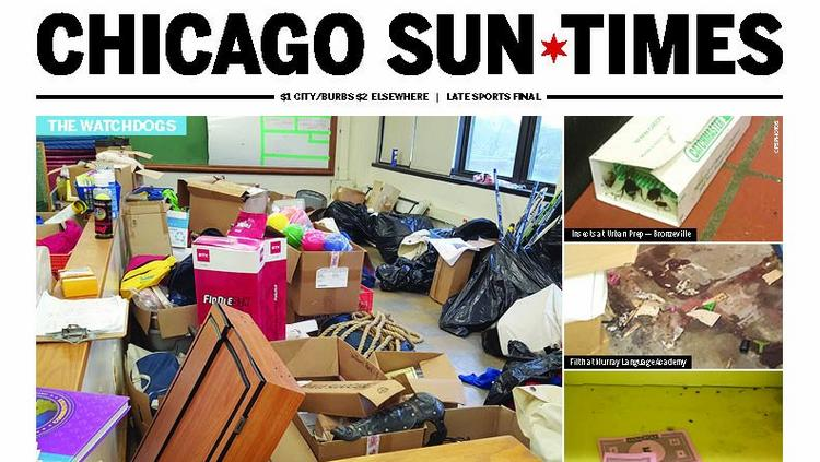 Chicago Sun Times Unveils Engaging New Design And Catchy Tagline Chicago Business Journal