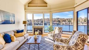 Waterfront Northwest Contemporary Home in Ballard