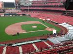 New features at Busch Stadium include Budweiser Terrace, self-ordering kiosks