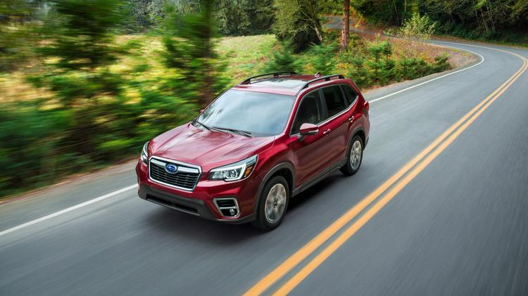 Automotive Minute 2019 Subaru Forester Is Company S Most High Tech